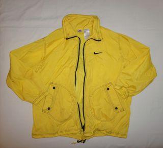 Chaqueta Vintage Nike White Tag Hombre XL