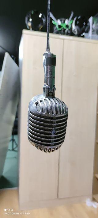 vintage microfono shure fatboy