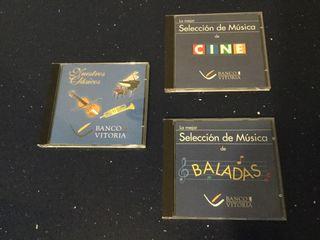 Lote cd Baladas,cine,clasico