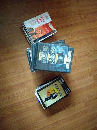 78 DVD de cine Español y Americano + 39 DVD varios