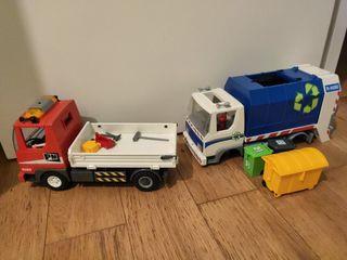 Camioneta y Camión Basura Playmobil