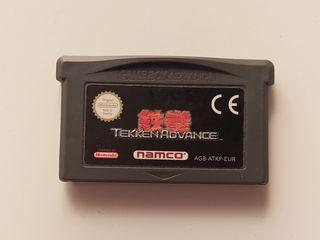 Videojuego Tekken Advance.
