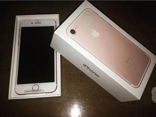 IPhone 7 rosa gold de 128 GB