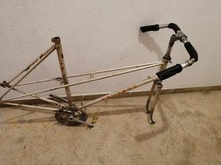 Cuadro Bicicleta antigua Peugeot 103