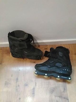 bota patines en linea rollerblade t 46