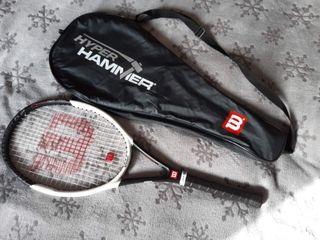Raqueta Wilson Hyper Hammer 6.2 4 3/8 (Carbon)