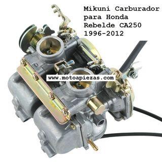 Mikuni Carburador para Honda Rebelde CA250 1996-20