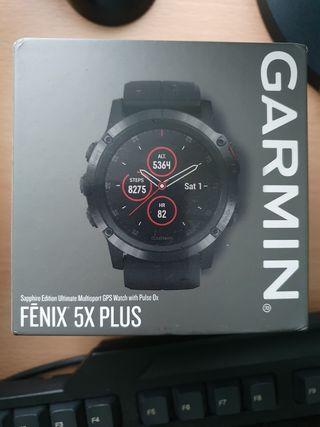 Garmin Fenix 5X PLUS ZAFIRO