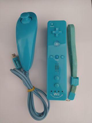 Mando Wii Motion Plus Inside Azul
