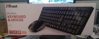 teclado inalambrico, nuevo