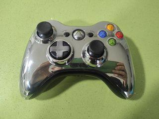 mando Xbox 360 cromado