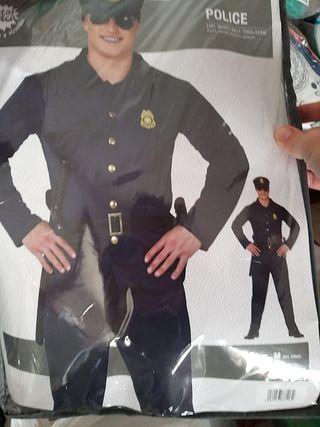 DISFRAZ TALLA XL MAS CINTURON POLICIA