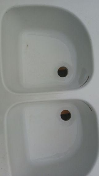 Lavabo doble ROCA