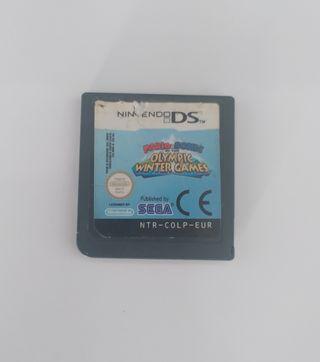 Mario y Sonic Juegos Olimpicos Invierno Ds