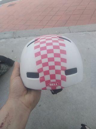 casco para niñ@