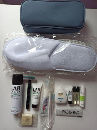 kit higiene viaje hombre