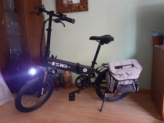 bicicleta eléctrica plegable a estrenar
