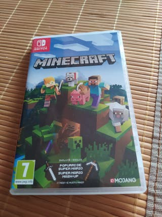juego minecraft nintendo switch