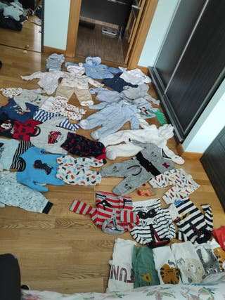 pack ropa bebe 6-9 meses niño