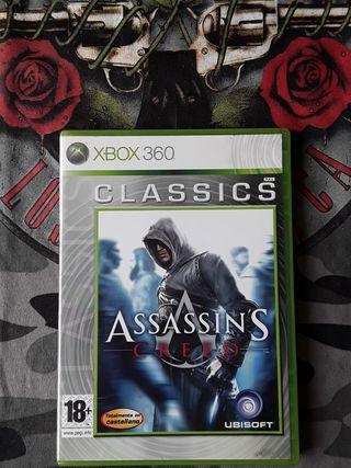 Juegos XBOX 360 (Assassins Creed)