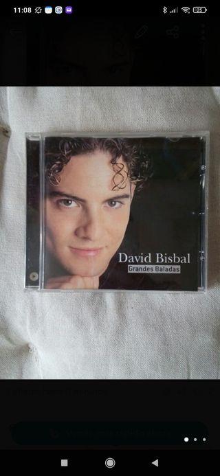 """CD David Bisbal """"Grandes baladas"""" original."""