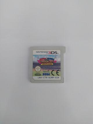 Mario y Sonic Juegos Olimpicos 3ds y 2ds