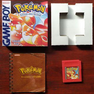 Pokémon Rojo GAME BOY