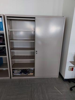 armario chapa puertas correderas 1.55 x 1.88