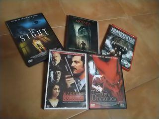lote terror películas DVD