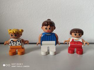 3 Figuras Lego Duplo