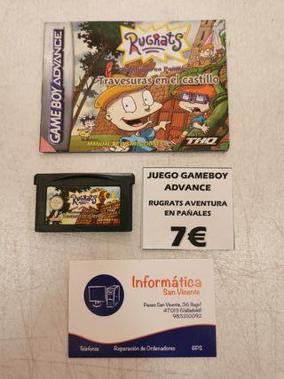 Videojuego Rugrats / Gameboy Advance