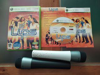 lips Xbox 360 micros inalambricos con sensores