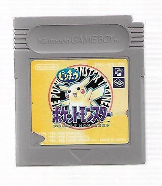 Pokemon Yellow Edition para Game Boy
