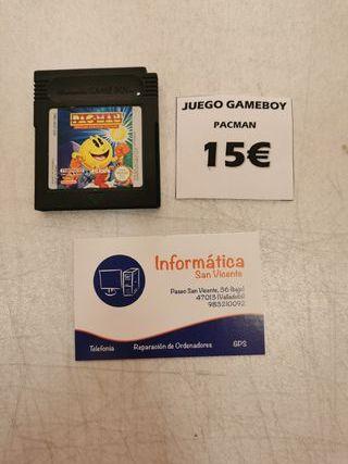 Videojuego Pacman / Gameboy Color