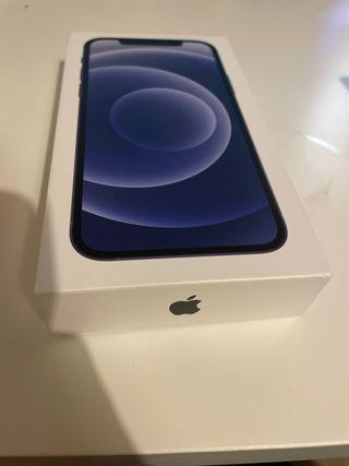 iPhone 12 128gb negro con caja apple