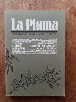 La pluma. Revista cultural 1981