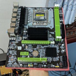 Placa base y procesador X5675