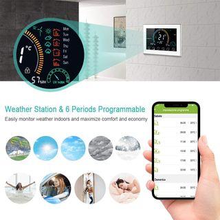 ¡NUEVO! Termostato WiFi Programable/Control App Vo