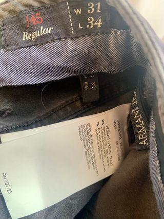 Pantalón Armani Jeans
