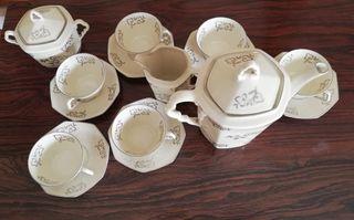 Juego café Vintage - Porcelana