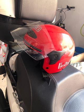 Casco moto niño talla S marca Helix