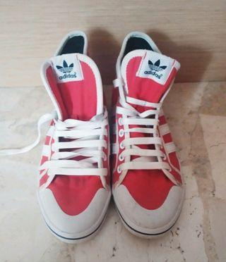zapatillas botines Adidas Vintage 39 1/3 seminueva