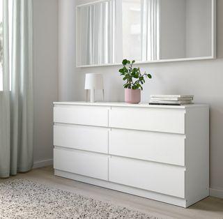 2 Cómodas blancas IKEA