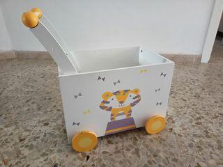cajón almacenaje juguete