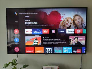 Televisor 4K 55 pulgadas Android TV