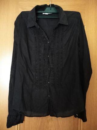 Camisa negra. Talla : L