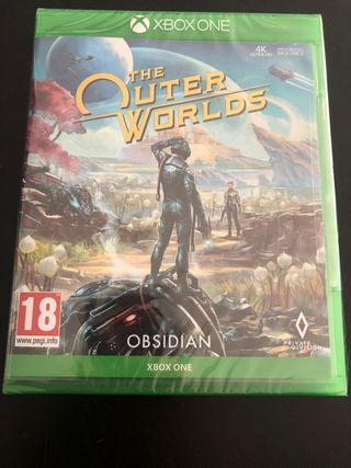 The Outer Worlds PAL ESP. Nuevo precintado. Xbox