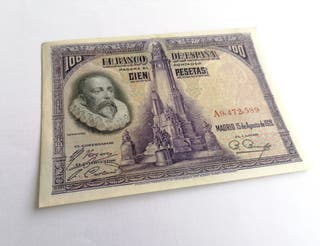 Bonito billete de 100 pesetas 1928!