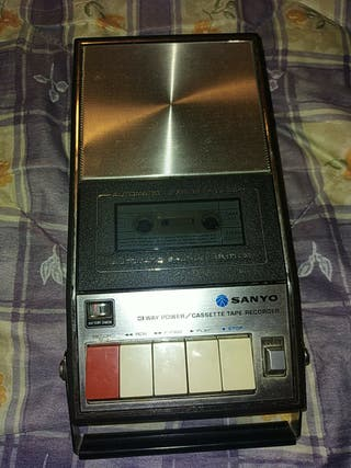 reproductor cassette vintage