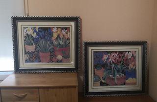 Conjunto de cuadros, estilo moderno
